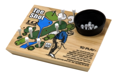 Wood Puzzles - IQ Tester, Golf