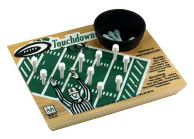 IQ Tester, Football - Peg Puzzle