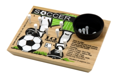 Wood Puzzles - IQ Tester, Soccer