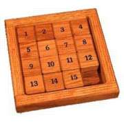 Slider Puzzles - Numbers