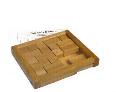 Dirty Dozen - Sliding Block Puzzle