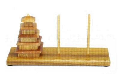 Pagoda Challenge - Sequential Puzzle