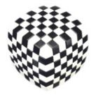 V-Cube 7 Illusion (Black & White Version) - Puzzle Cube