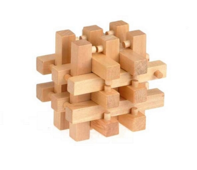 Wood Puzzles - 18 Brothers