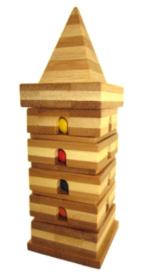 Wood Puzzles - Puzzle Tower, Easy