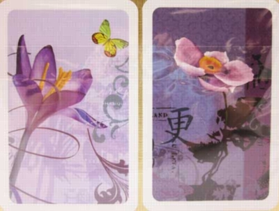 Mauve Delight - Double Deck Playing Cards