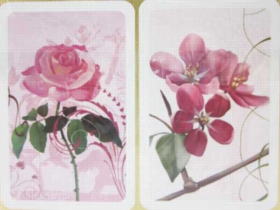 Ruby Roses - Double Deck Playing Cards