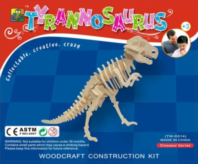 3D Puzzles - Tyrannosaurus