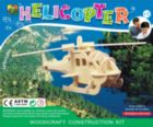 Helicopter - 34pc Wooden 3D Assembly Puzzle