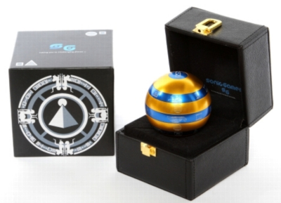 ISIS Metal Brain Teaser w\ Leather Box - EXCLUSIVE Gold & Blue Version!