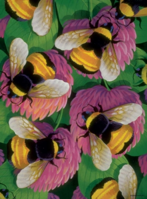 Bees and Clover - 1000pc Jigsaw Puzzle by Bits & Pieces