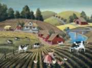 Cow Pasture - 1000pc Jigsaw Puzzle by Bits & Pieces