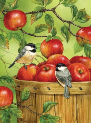 Autumn Apples - 1000pc Jigsaw Puzzle by Bits & Pieces