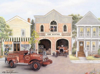 The Firehouse - 1000pc Jigsaw Puzzle by Bits & Pieces