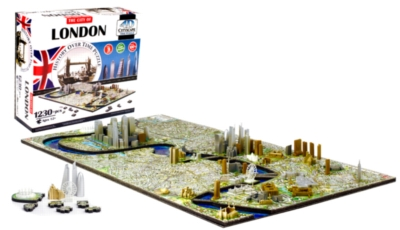 London - 1230pc 4D Cityscape Jigsaw Puzzle