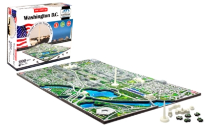 Washington D.C. - 1100pc 4D Cityscape Jigsaw Puzzle