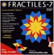 Games - Fridge Fractiles, 48 Magnetic Tiles