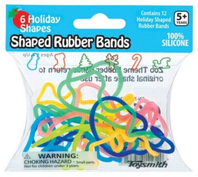 Brain Teasers - Shaped Rubber Bands