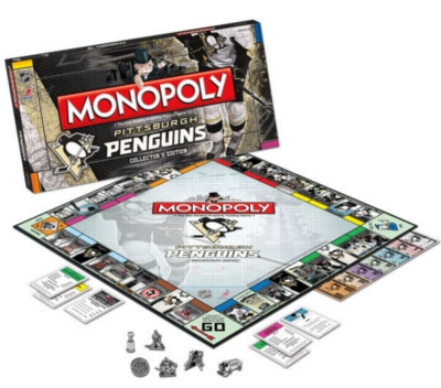 Monopoly: Pittsburgh Penguins - Board Game