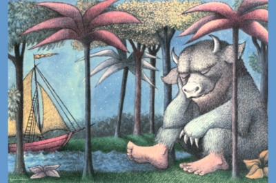 Maurice Sendak: Sleeping - 700pc Large Format Jigsaw Puzzle by Heye