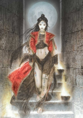 Luis Royo: Stairs - 1000pc Jigsaw Puzzle by Heye
