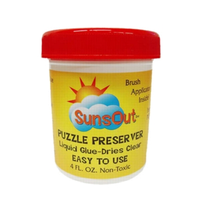 Sunsout Puzzle Preserver (4oz) - Jigsaw Puzzle Glue
