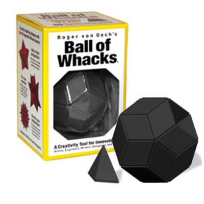 Ball of Whacks (Black) - Magnetic Puzzle