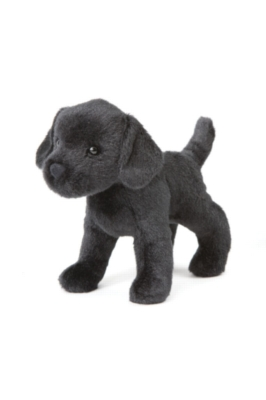 "Murphy Black Labrador - 8"" Dog By Douglas Cuddle Toy"