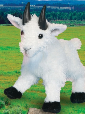 "Maggie Mountain Goat - 8"" Goat by Douglas Cuddle Toy"