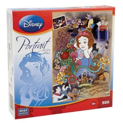 Disney Portrait: Snow White - 500pc Jigsaw Puzzle by MEGA