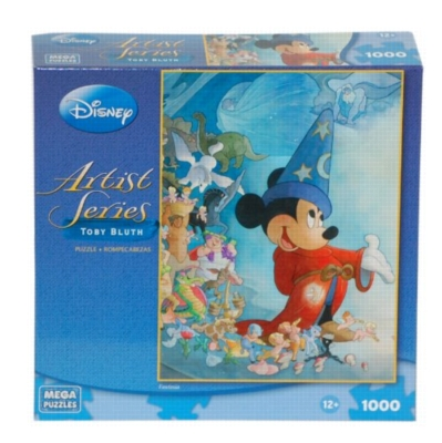 Toby Bluth: Fantasia - 1000pc Jigsaw Puzzle by MEGA