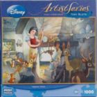 Snow White: Tidying Up, by Toby Bluth - 1000pc Jigsaw Puzzle by MEGA