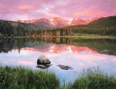 Springbok Jigsaw Puzzles - Mountain Mirror