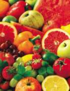 Colorful Fruit - 500pc Jigsaw Puzzle by Springbok