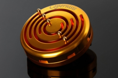 Copernisis Metal Brain Teaser w/ Display Box - Gold & Red Version