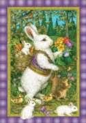 Classic Bunny - Garden Flag by Toland