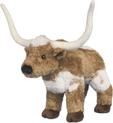 T-Bone Longhorn - 8&quot; Steer By Douglas Cuddle Toys
