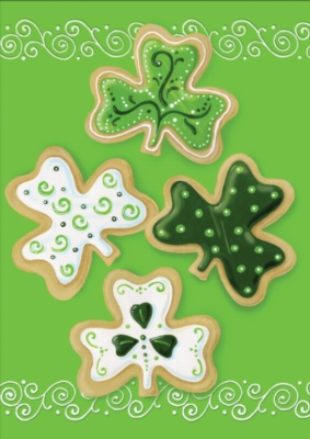 Shamrock Cookies - Standard Flag by Toland