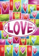 Valentine Love - Garden Flag by Toland
