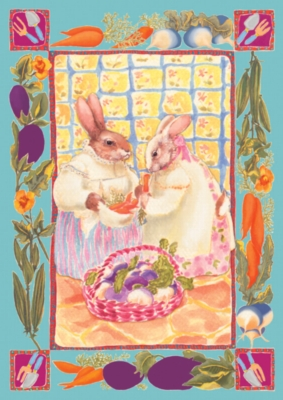 Bunny Ladies - Standard Flag by Toland
