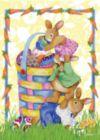 Bunnystack - Garden Flag by Toland