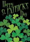 Shamrocks - Garden Flag by Toland