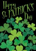 Shamrocks - Standard Flag by Toland
