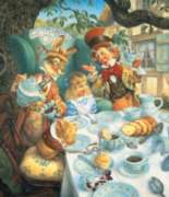 A Mad Tea Party - 200pc Jigsaw Puzzle By Sunsout