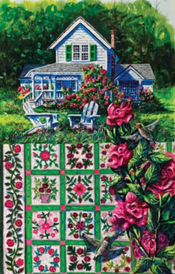 Rose Sampler - 1000pc Jigsaw Puzzle By Sunsout