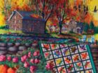Stone Mill Crossing in Autumn - 1000pc Jigsaw Puzzle By Sunsout