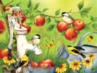 Among the Apples - 500pc Jigsaw Puzzle By Sunsout