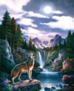 Wolf Moon - 1500pc Jigsaw Puzzle By Sunsout