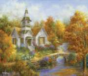 Autumn Worship - 550pc Jigsaw Puzzle By Sunsout