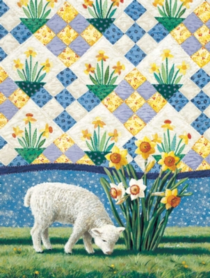 Daffodils - 500pc Jigsaw Puzzle By Sunsout
